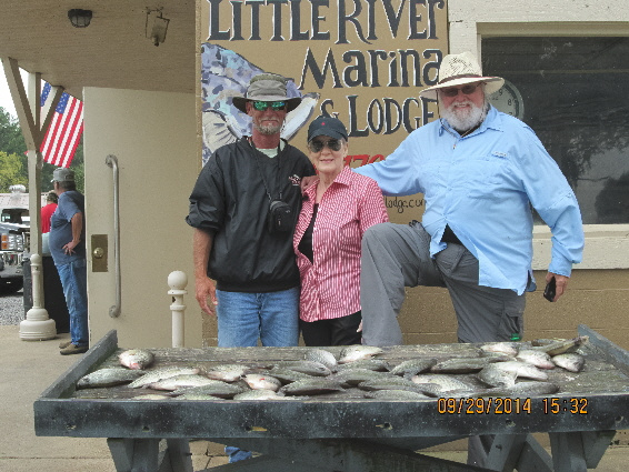 Weiss lake alabama crappie striper and bass fishing guide for Weiss lake fishing report